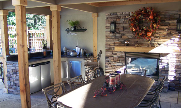 How to choose summer kitchen for Outdoor summer kitchen ideas