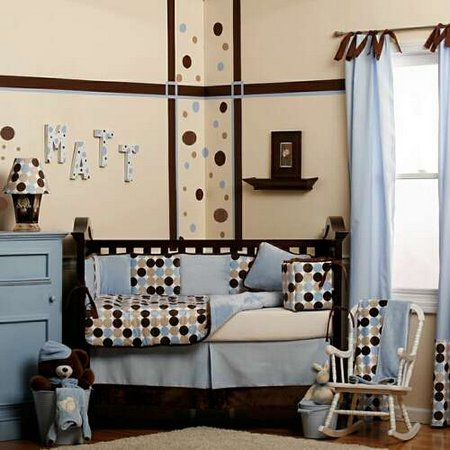 Boy nursery ideas for decoration for Baby boy bedroom decoration
