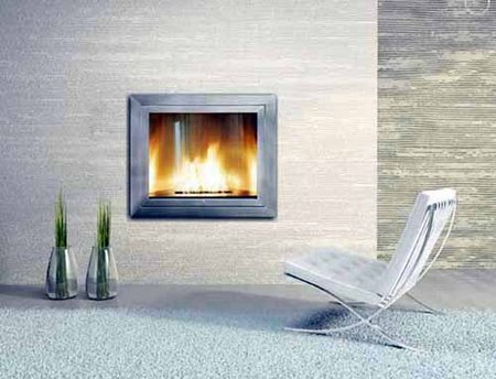 Fireplaces with style for Contemporary ventless fireplace