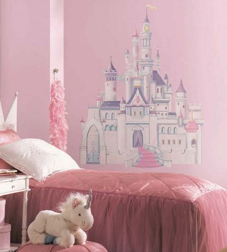 Charming girls bedroom wall decorating - Wall decoration ideas for bedroom ...