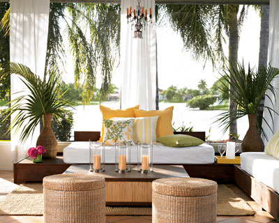 Tropical Decorating For Private Paradise - www.