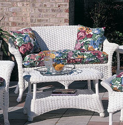 wicker furniture patio
