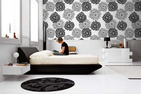 Wall murals unique decor www for Bedroom wallpaper designs india