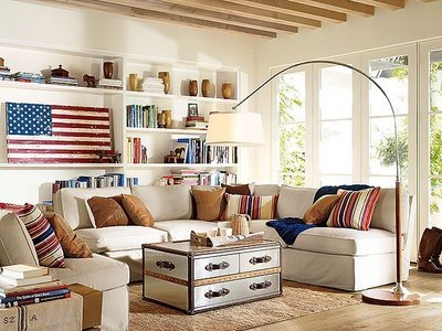americana-decorations-living-room