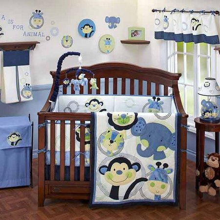 Zoo baby room ideas beautydecoration for Baby boy mural ideas