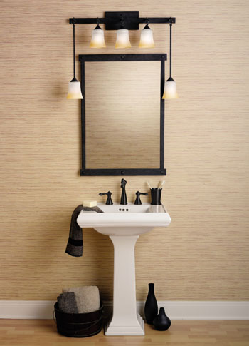 Types & Styles Of Bathroom Lighting - www.