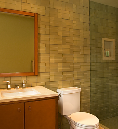 Great bathroom tile ideas for Nice small bathrooms