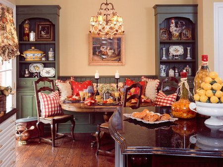 French Country Interior Decorating - www.