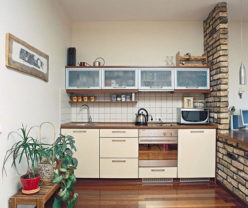 Small kitchen design solutions for Nice small kitchen designs