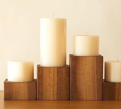 sustainable-wood-candle-holders