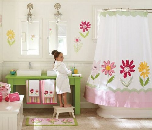 flower-themes-girl-bathroom-decorating-ideas-kids-decor-530x454