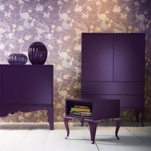 Purple Color In Home Decorating