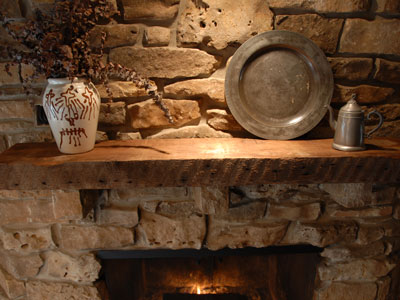 How To Make A Rustic Fireplace Mantel