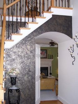 Black Metallic Accent Wall In The Foyer 21269335 3868817785 9be624b6a2