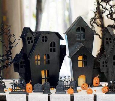 spooky town decor