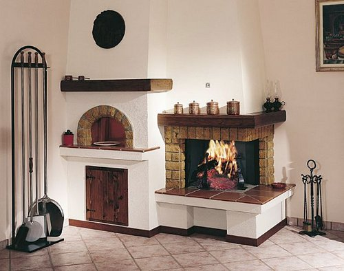 traditional-mantel-for-fireplace-with-oven-341915