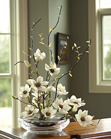 Artificial flowers a great alternative home decor for Artificial flowers decoration home