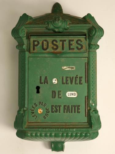 french postbox