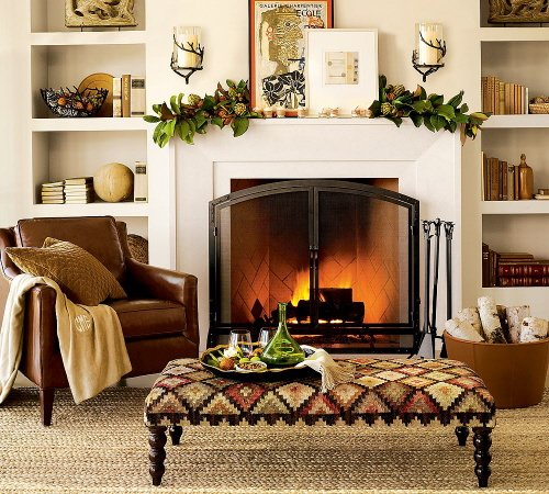winter-fireplace-mantel