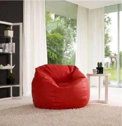 Furniture styles fatsac bean bags - How to decorate living room with bean bags ...