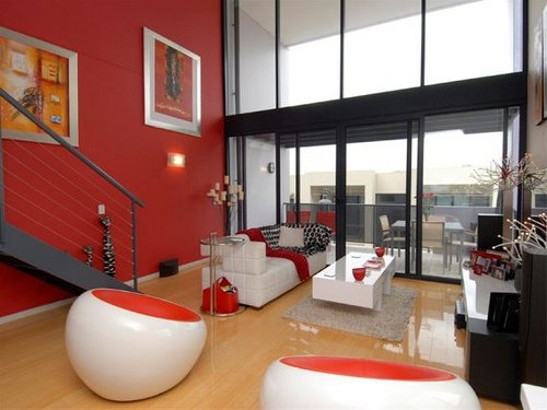 living-room-modern-red