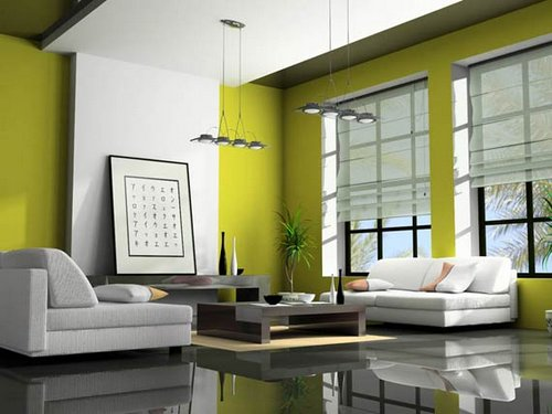 Modern-Eco-Friendly-Green-Living-Room