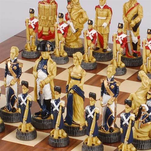 Having a decorative chess set as a room decoration - Ornamental chess sets ...