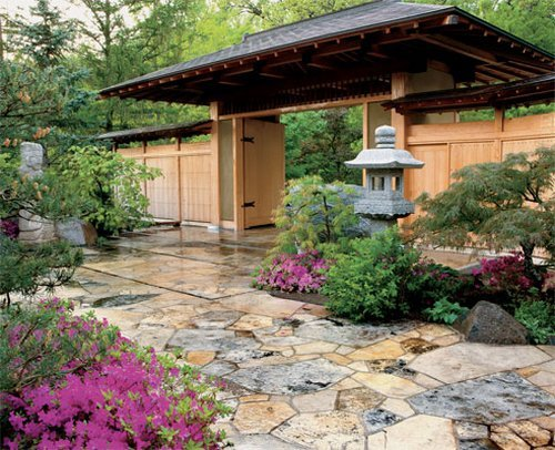 Home and garden decor for beautifying living space www for Japanese style landscaping