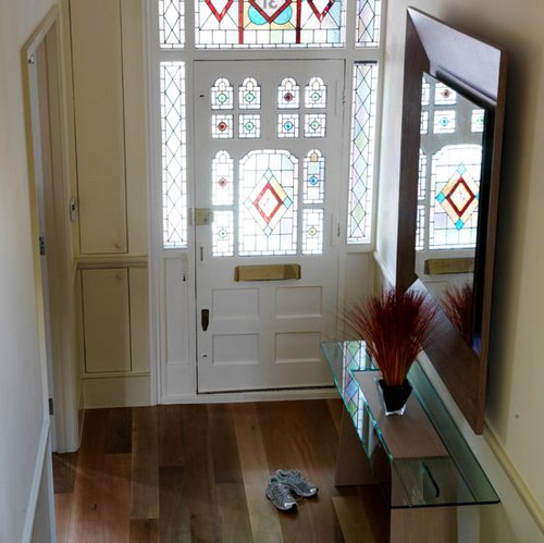 Stained-glass-door