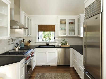 Fine Basic Kitchen Design Spacesaving Layout Hgtvcom To