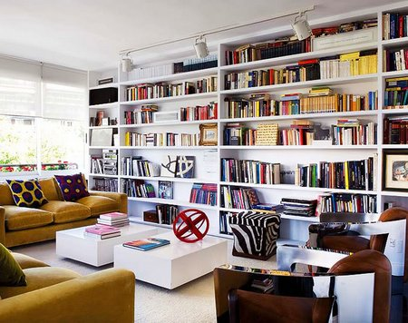 Building Wall To Wall Bookcases