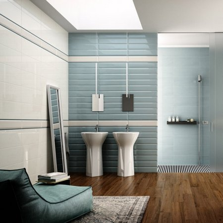 as the goal of the todays society is to increase environmental awareness the more popular and smart solutions we have in interior bathrooms - Bathroom Tiles Trends 2013