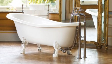 Clawfoot bathtubs for Victoria albert clawfoot tub