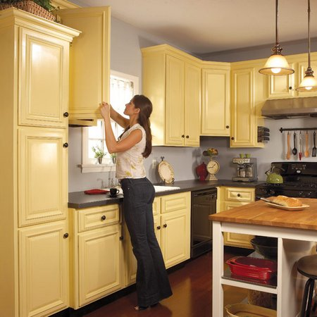 Repaint your kitchen cabinets for Can kitchen cabinets be repainted