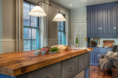 Marvelous Kitchen Countertops Made Of Eco Friendly Material (wood) Part 17