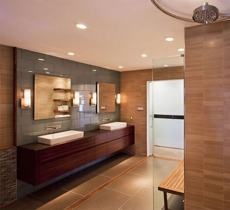 Bathroom Ceiling Downlights downlights in your bathroom - www.nicespace