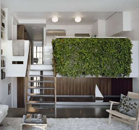 Vertical garden in your rooms - Escaleras modernas interiores ...