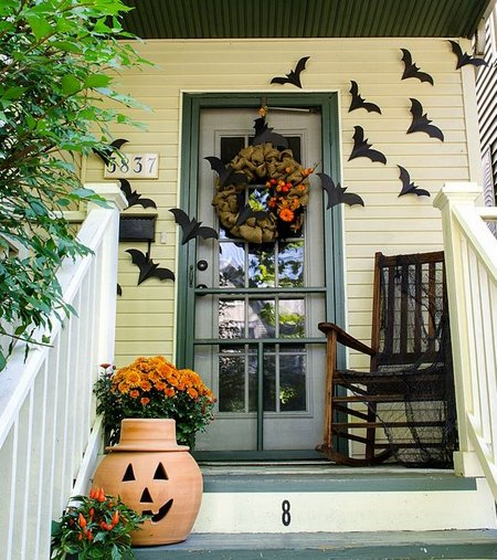 Halloween creative ideas for a spooky home - Deco halloween exterieur ...
