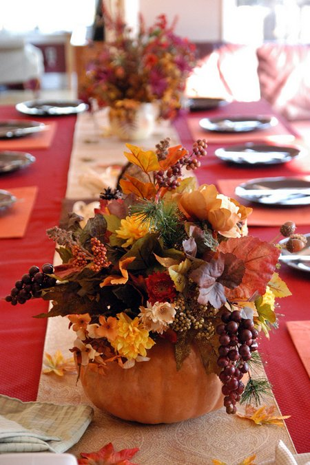 Floral Decoration Ideas For The Thanksgiving Day Www
