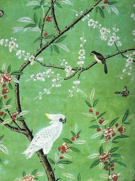 Wallpaper Designs With Birds : Spring colors and bird themed home decorating ideas
