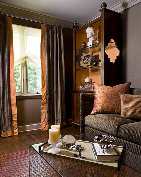 Plain or patterned curtains made from a medium or heavy weight fabric which  are hung from the curtain track to the floor will provide valuable heat ...