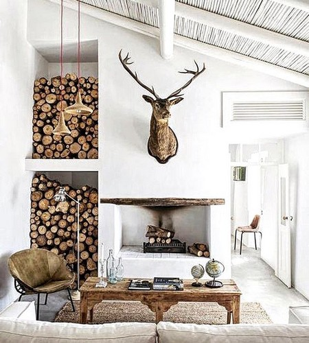 Rustic10. Rustic Style Furniture In Contemporary Homes   www nicespace me