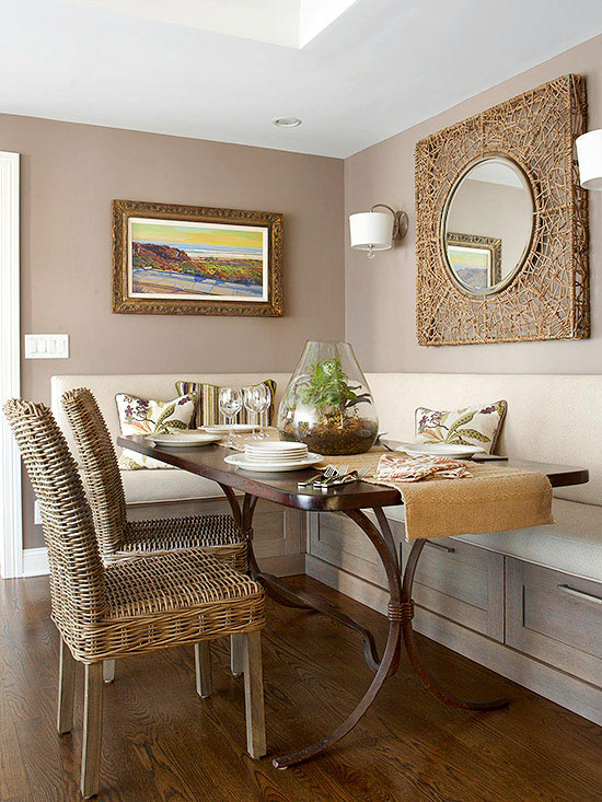 Use Of Space In A Small Dining Room