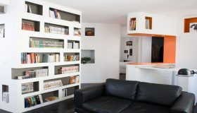 Unusual Bookcase  by h2o Architectes