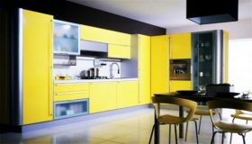 Yellow Kitchen by Snaidero