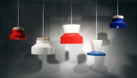 Colorful Bowl Lamps Pendant Design Jonas Wagell