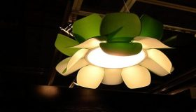 Lotus Flower Lamp By Estiluz