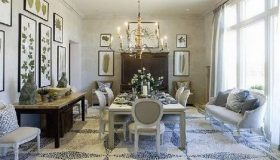 The French Country Dining Room