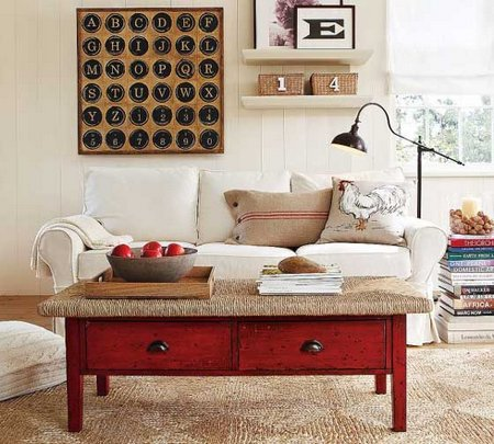 Lounge-design-of-Ideas-of-Living-Rooms-with-A-Vintage-Design-From-Pottery-Barn