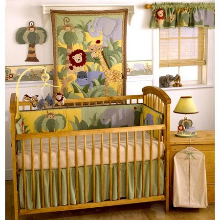 Baby Boy Safari Nursery Bedding